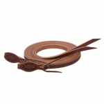 "Weaver Leather Barbed Wire Split Reins, 5/8"" x 8'"