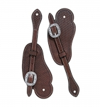 Weaver Leather Basin Cowboy Spur Straps, Cowboy