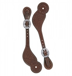 Weaver Leather Basin Cowboy Spur Straps, Regular