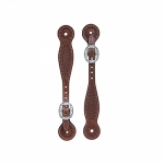 Weaver Leather Basin Cowboy Spur Straps, Thin