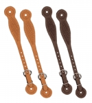 Weaver Leather Basketweave Spur Straps, Thin