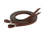 "Weaver Leather Bridle Leather Split Reins, 5/8"" x 7'"