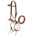 Weaver Leather Browband Hackamore Bridle