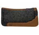 Weaver Leather Contoured Layered Felt Saddle Pad - Memory Foam