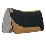 WEAVER LEATHER Contoured Two-Tone Felt Saddle Pad