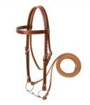 Weaver Leather Draft Horse Riding Bridle, Average