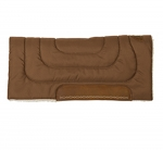 WEAVER LEATHER Economy Work Saddle Pads with Wheat Boot Embroidery