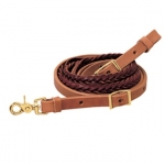 Weaver Leather Harness and Latigo Leather 5 Plait Roper Rein FREE Shipping