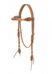Weaver Leather Harness Leather Browband Headstall