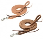 Weaver leather Horizons Flat Roper Reins with Water Loops