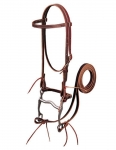 Weaver Leather Latigo Leather Browband Bridle