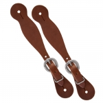 Weaver Leather Latigo Leather Ladies' Spur Straps