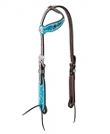 Weaver Leather Memphis Flat Sliding Ear Headstall