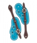 Weaver Leather Memphis Spur Straps, Cowboy