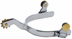Weaver Leather Men's Roping Spurs with Plain Band