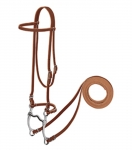 Weaver Leather Pony Harness Leather Browband Bridle