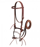 Weaver Leather Pony Latigo Leather Browband Bridle