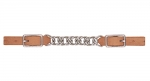"Weaver Leather ProTack 3-1/2"" Single Flat Link Chain Curb Strap"