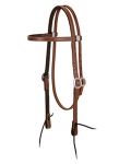Weaver Leather ProTack Chap Lined Harness Leather Browband Headstall