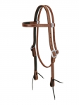 "Weaver Leather ProTack Chap Lined Harness Leather Browband Headstall, 3/4"" FREE SHIPPING"