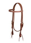 Weaver Leather ProTack Oiled Browband Headstall, 5/8""
