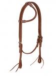 Weaver Leather ProTack Oiled Rolled Sliding Ear Headstall