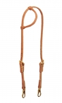 Weaver Leather ProTack Rolled Sliding Ear Trainer Headstall