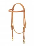 Weaver Leather ProTack Single-Ply Browband Trainer Headstall FREE SHIPPING