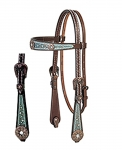 Weaver Leather Savannah Browband Headstall