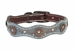 "Weaver Leather Savannah Dog Collar 5/8"" & 3/4"""