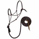 WEAVER LEATHER Silvertip #95 Rope Halter with 10' Lead, Large