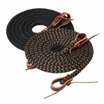 WEAVER LEATHER Silvertip Horseman's Braid Trail Reins