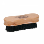 WEAVER LEATHER SMALL PIG FACE BRUSH, WOODEN