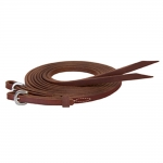 "Weaver Leather Stacy Westfall ProTack Oiled Split Reins, 1/2"" x 8'"