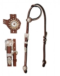 Weaver Leather Stacy Westfall Showtime Sliding Ear Headstall