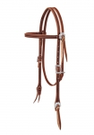 Weaver Leather Stockman Browband Headstall, Sunset