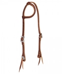 Weaver Leather Stockman Flat Sliding Ear Headstall, Sunset