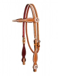 Weaver Leather Texas Star Browband Headstall
