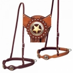 Weaver Leather Texas Star Scalloped Noseband FREE SHIPPING