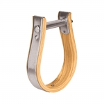 "Weaver Leather Wooden Stirrups, Oxbow, 1"" Tread"