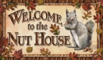 Welcome to the Nut House Welcome Mat