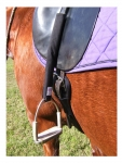 Whinny Widgets No Twist or Spin Stirrup Leather Covers