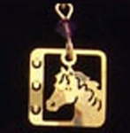 Wild Bryde American Mustang Horse Necklace