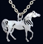 Wild Bryde Arabian Horse Necklace