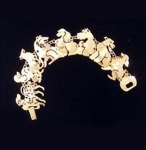 Wild Bryde Dog Bracelet with 9 Breeds