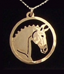 Wild Bryde Dressage Horse Necklace