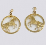 Wild Bryde Hanovarian Horse Earrings