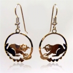 Wild Bryde Kitty Pounce Cat Earrings