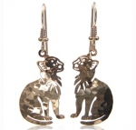 Wild Bryde Little Kitty Cat Earrings