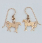 Wild Bryde Little Trotter Horse Earrings